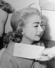 Joan Crawford hair test for 'Hush… Hush, Sweet Charlotte' 1964. __________ #oldhollywood #classiccinema #filmmaking #cinema #movie #oldmovie #actress #moviestar #hollywood #classicfilms #classics #vintage #films #oldmovie #silverscreen #joancrawford #feud #vintagefilms #hushhushsweetcharlotte #hair #classichollywood #oldmovies #goldenhollywood #classicmovies #retro #style #movies #star #goldenageofhollywood ↪#jchhush