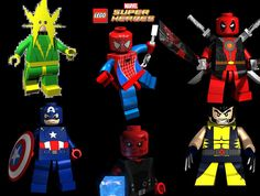 LEGO Marvel Super Heroes Characters Unlock Guide – How To