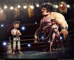 Here comes a new challenger! by Victor Hugo Queiroz | 3D | CGSociety