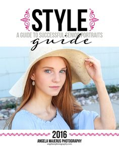 AMP Seniors - What to Wear Guide  Angela Majerus Photography 2016  -  Style Guide for Seniors