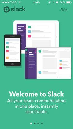 Slack walkthrough