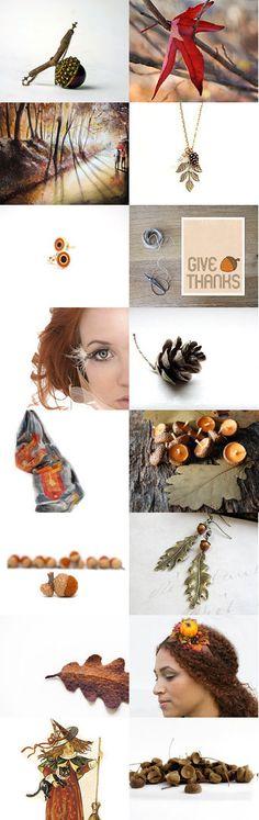 Autumn Forest Walk by Savenna Zlatchkine on Etsy #etsy #autumn #gifts #accessories #supply