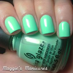 Maggie's Manicures: China Glaze 2013 Sunsational Collection - Highlight Of My Summer