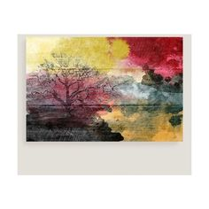 Cost Plus World Market Watercolor Landscape Canvas Wall Art (870 DKK) ❤ liked on Polyvore featuring home, home decor, wall art, canvas wall art, landscape canvas wall art, watercolor wall art, landscape wall art and cost plus world market