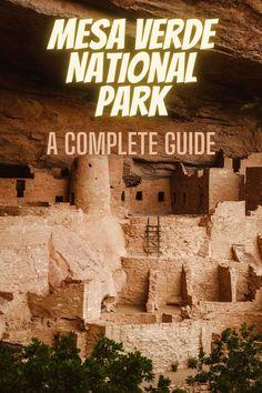 A Complete Guide to Mesa Verde National Park. list of national parks l park idea l national parks list l usa national parks l national parks USA #USA #nationalparks #USAnationalparks #nationalparkslist Best National Parks Usa, National Park Camping, State Parks, Colorado, Road Trip, Usa Usa, Vacation, Travel, Aspen Colorado