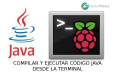 Compilar y ejecutar código Java desde la terminal - Raspberry Pi