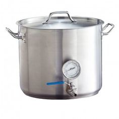10 Gallon Heavy Duty Stainless Steel Brew Kettle