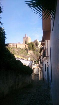 La Alhambra desde el Realejo.