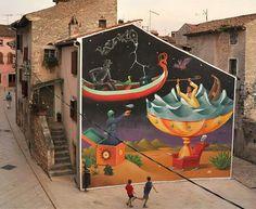 Interesni Kazki mural, Croatia