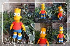 Bart Amigurumi - The Simpsons by Multigurumi