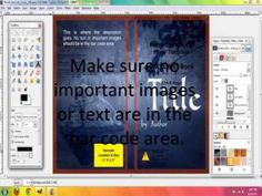 How to Make a Book Cover for CreateSpace with Gimp - YouTube
