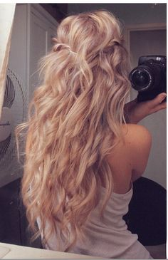 Oh i wish my hair were this long