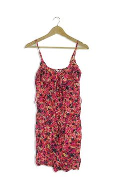 Ladies Vest Top With Straps Matalan Sizes 8 or 18 Orange or Khaki Summer Holiday