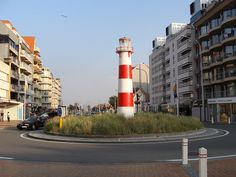 Nieuwpoort: roundabout lighthouse | Flickr - Photo Sharing!