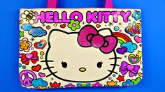 5f51d5f07d6e Hello Kitty Sparkling Gemstone Coloring Tote Bag How To Design by Disney...  Hello