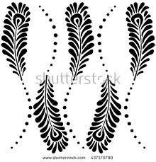 Resultado de imagen para plumas pavo real dibujos