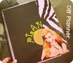 DIY Planner, another great one, with ideas pages to 'share' if you like!
