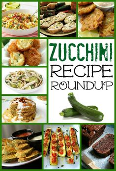 Zucchini Recipe Roundup from favfamilyrecipes.com