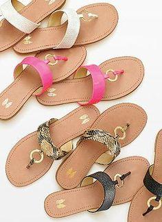O-ring flip flops!