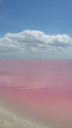 Las Coloradas, Yucatan.