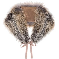 Brock Collection Sunglow Fox Scarf (2,450 BAM) ❤ liked on Polyvore featuring accessories, scarves, fur shawl, fur scarves, fox shawl, fox fur scarves and fox fur shawl
