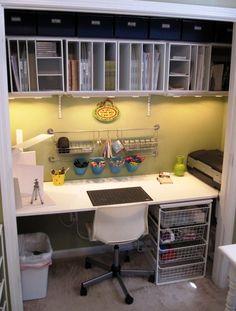 Sharon's Scrappy Space: Scraproom Organization