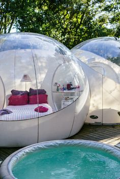 Buying Tips When You're Camping Bubble House, Bubble Tent, Tent Air Conditioner, Outdoor Hammock Chair, Outdoor Living, Outdoor Decor, Pool Landscaping, Tent Camping, Architecture Design