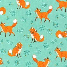 Forest Fellows - Foxy Fellows (Nature) : Crimson Tate :: Modern Quilter