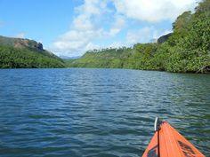 Kauai's Secret/Sacred Falls Kayak & Waterfall Hike - a nice adventure. It's not as strenuous as it sounds.