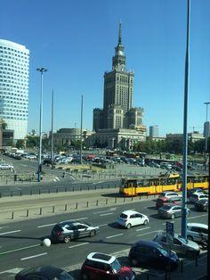 Marriott view. Stalinka. Warsaw, Poland.