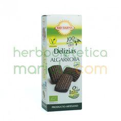 Bio-Darma, Galletas Delizias de Algarroba, son sorprendentemente dulces, y resultan muy digestivas. Un placer por descubrir.