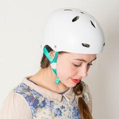 Bern Brighton ladies bike helmet - Satin White