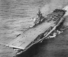 The Battle of the Coral Sea occurred during the first week of May It was the most decisive event of World War II for the Marine Corps although no Marine Corps combat unit was involved. Uss Hornet Cv 12, Fleet Week, Navy Day, United States Navy, Aircraft Carrier, Battleship, Aerial View, World War Ii, Wwii