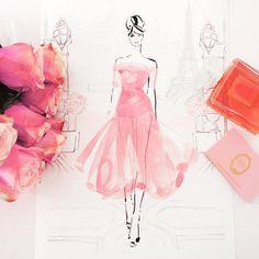 On Mondays we wear pink... Happy Monday my loves... X