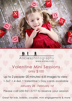 Valentine's Mini Sessions 2013 | Naperville Professional Photography Studio…Mini Valentine Sessions ...