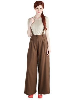 Work Appropriate - Conference Room Coffee Pants in Brown