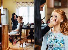 Przygotowania ślubne - fotografia slubna Kraków #fotograf #slub #slub #zdjęcia #bialekadry #wedding #preparation #makeup #makijaż #ślubny
