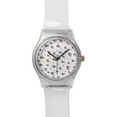 círculos reloj de mano