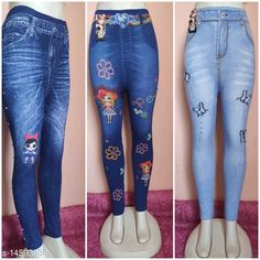 Jeggings Trendy Stylish Women Jeggings Fabric: Cotton Blend Pattern: Printed Multipack: 3 Sizes:  30 (Waist Size: 32 in, Length Size: 37 in, Hip Size: 32 in)  Sizes Available: 28, 30, 32 *Proof of Safe Delivery! Click to know on Safety Standards of Delivery Partners- https://ltl.sh/y_nZrAV3  Catalog Rating: ★4 (7701)  Catalog Name: Designer Glamarous Women Jeggings CatalogID_1531903 C79-SC1033 Code: 454-14593938-