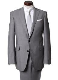 Love this color for the groom and groomsmen, especially with a purple tie and pocket square