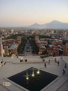 Yerevan from Cascade hill