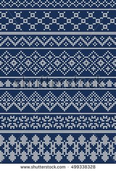 Vector Illustration of Ugly sweater seamless Pattern for Design, Website, background, Banner. Merry christmas Knitted Retro cloth with Snowflake Element Template Cross Stitch Numbers, Cross Stitch Borders, Cross Stitch Designs, Cross Stitch Bookmarks, Cross Stitch Embroidery, Fair Isle Knitting Patterns, Bead Crochet Rope, Kantha Stitch, Knitting Magazine