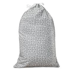 Printed Laundry Bag-Gray Towers