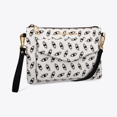 Penny Crossbody Clutch with Eye Print By Claudia canova - Fy