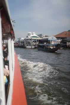 River taxi (riečny taxík), Bangkok