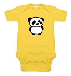 Panda Yellow One Piece
