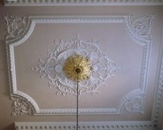 Love the ceiling and gorgeous medallion.