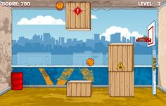 Hoop Shoot is a fun and addictive basketball game suitable for all. Each level brings on a new challenge for you to attempt, performing trick shots to help you get through or around obstacles. Can you step up to the challenge and make your way through each level? Why not give it a go!!