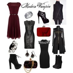 Nice collection for all of the modern vampires out there. I am sure McQueen would approve.
