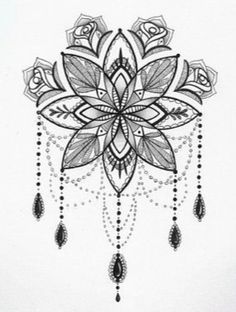 This could totally be a cool tattoo between the shoulder blades